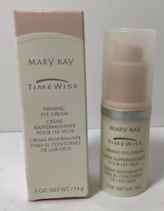 MARY KAY Timewise Firming Eye Cream #003209 0.5 Oz. for Dry To Oily Skin NOS