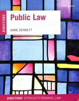 Public Law Directions by Anne Dennett 9780198807315 | Brand New