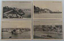 More details for vintage malta postcards - st. elmo, st. angelo, custom house, pieta creek