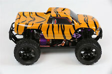 Custom Body Tiger Style for Redcat Volcano 1/10 Truck Car Shell Cover 1:10