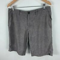 Quiksilver Mens Board Shorts 34 Grey Pockets