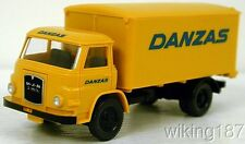 "Wiking NEW HO 1/87 Scale 60/70's MAN 2-axle delivery truck marked for ""DANZAS"""