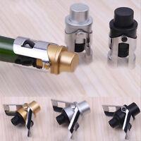 Kitchen Stainless Steel Wine Bottle Stopper Plug Sparkling Champagne Sealer Tool