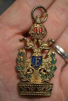 C6*) Médaille russe ou serbe à déterminer russie FRENCH medal décoration