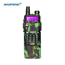 BaoFeng Green Walkie Talkie UV-5R Two Way 5W FM  Radio UHF/VHF +3800mah Battery