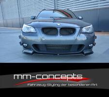 CUP Spoilerlippe für 5er BMW E60 E61 M Paket M5 Spoilerschwert Frontspoiler V2
