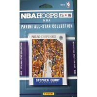2015 2016 Hoops NBA All Stars Collection Special Edition Factory Sealed Set