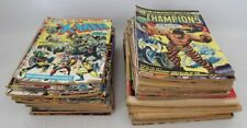 114 x 1970's US & UK MARVEL COMICS Fantastic Four DEFENDERS Mighty World - C19