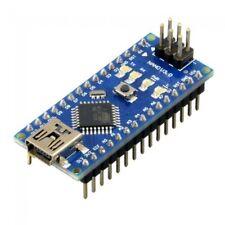 ARDUINO NANO V3.0 SCHEDA MICROCONTROLLORE ATMEGA168P CH340G USB 5V SPEDIZ ITALY