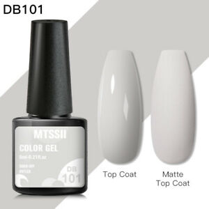 244 Colors MTSSII Nail Art Gel Nail Polish Soak-off UV/LED Manicure Spring 6ml