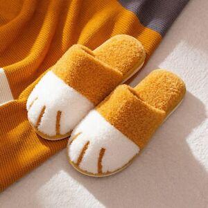 Women Winter Cute Warm House Fur Slippers Bedroom Shoes Slides Fluffy Slip On