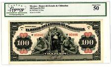Mexico ... P S136a ... 100 Pesos ... D.1913 ... *AU*.