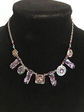 FIREFLY Swarovski Crystal Multiple Stone Necklace-N179