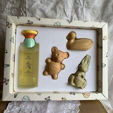 Bvlgari Petites Et Mamans 4 Piece Gift Set 3.4oz Eau Sans Alcohol 3 Gentle Soaps