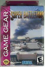 Super Battletank (Sega Game Gear, 2001) Factory Sealed
