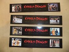 BRUCE LEE ENTER THE DRAGON RARE set of 4 BOOKMARKS GREEN HORNET