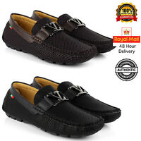 Mens Casual Smart Shoes Slip On Loafers Designer Driving Office New Size