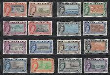 Bahamas 1953 Elizabeth set MNH catv €60