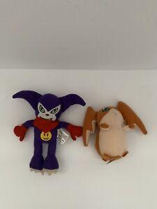 Rare Digimon Impmon #4 Dairy Queen Kids Meal Plush Toy 2002 Patamon #5 Impmon
