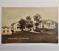Old View of Fessenden School West Newton Mass. RPPC Real Photo Postcard Tucker