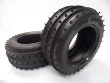 Tamiya 50449 RC Dyna Blaster Front Tires Set For Stadium Thunder Blitzer Beetle
