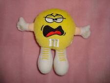 "M&M's Swarmees Mini Candy holder Yellin Yellow 5"" Plush"