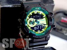 Casio G-Shock Lime Accent Analog Digital Men's Watch GA-400LY-1