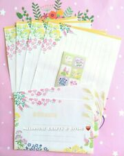 BONUS SEALS! ✨ LETTER WRITING SET, PAPER ENVELOPES 🌷 Flower Garden B 🌿