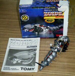 Vintage Boxed Tomy 1994 Zoids 2 Motorized Robot Toy - Slither