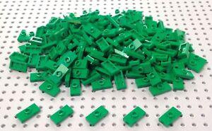 Lego Green 1x2 Plate 'Jumper' (3794 / 15573) x15 in a set *BRAND NEW* Minecraft