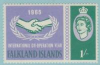 Falkland Islands 157 Mint Hinged OG* - NO FAULTS VERY FINE !