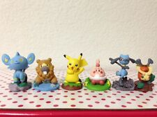 """Pokemon Pikachu Action Figures Set of 6 Buildable Brand New 1.5"""" to 2.5"""""""