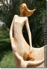 Handgefertigte Dekofiguren aus Keramik