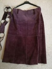 Vintage Sude Skirt Size 12