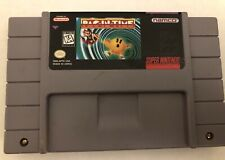 PAC-IN-TIME Super Nintendo SNES game cart tested works
