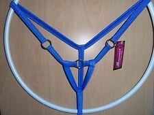 jovanadesign Mens Enhancer String Open Front Royal Blue M