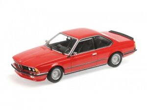 BMW 635 CSI 1982 RED 1:18 Minichamps