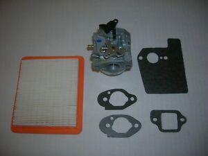 Honda OEM Engine Carburetor Manual Choke 16100-Z0Y-813 Gaskets HRX217 Air Filter