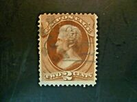USA 1873 $.02 Jackson #157 Used  - See Description & Images