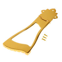 Gold Guitar Tailpiece Bridge Arch Top Hollow Body for Electric Guitar Parts