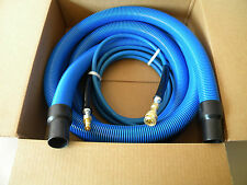 Carpet Cleaning - 15' Vacuum & Solution Hoses w/Cuff/QD 1.5""