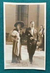 Antique Photo Russian Imperial Grand Duke Vladimir Romanov Grand Duchess Spain