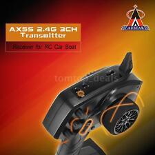 AUSTAR AX5S 2.4G 3CH AFHS Remote Control Transmitter + Receiver for RC Car Q4T1