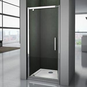 Pivot Shower Door Hinge Shower Screen Panel 700/760/800/900/1000mm Safety Glass