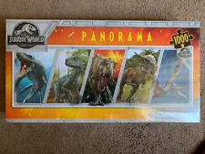 Jurassic Park World 1000 Piece PANORAMA Jigsaw Dinosaur Clementoni New SEALED