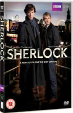 SHERLOCK SERIES 1 BENEDICT CUMBERBATCH FREEMAN BBC UK 2 DISC BOX SET DVD  NEW