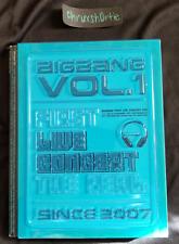 BIG BANG Vol. 1 First Live Concert - The Real DVD TOP Daesung Gdragon Taeyang