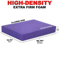 Balance Pad Stability Disc Exercise Fitness Training Yoga Purple XL Extra Firm