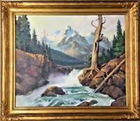 WALTER HASKELL HINTON (American, 1886-1980) Original Oil Painting