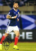 Signed Steven Fletcher Scotland Autograph Photo Sheffield Wednesday Burnley